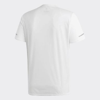 Heren Hardlopen Wit Run T-shirt