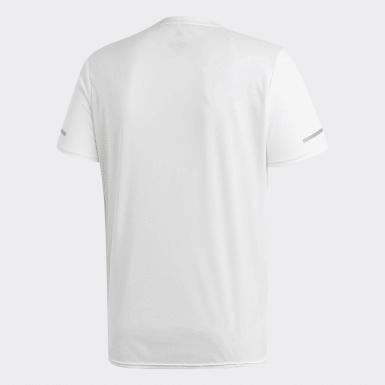Herr Löpning Vit Run T-shirt