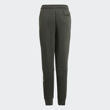 Pantaloni Outline Verde Ragazzo Originals