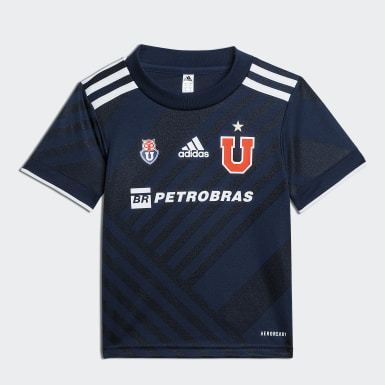 Mini Uniforme Local Club Universidad de Chile 20/21 Azul Niño Fútbol