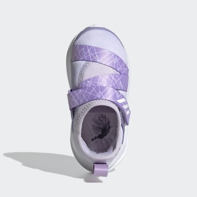 Infants Running Purple Frozen FortaRun X Shoes