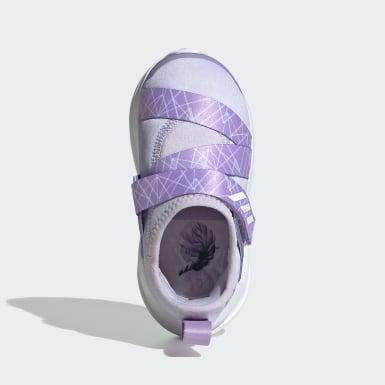 Sapatos FortaRun X Frozen Roxo Raparigas Running