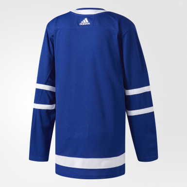 Maillot Maple Leafs Domicile Authentique Pro bleu Hockey
