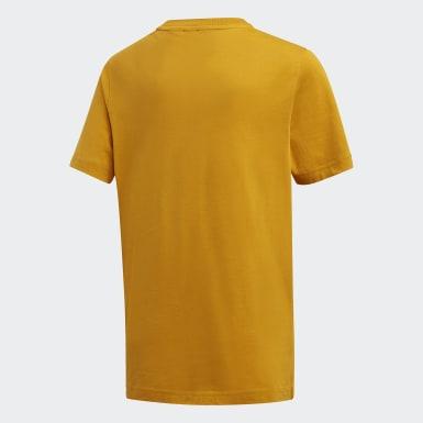 T-shirt Badge of Sport  Must Haves Dourado Rapazes Treino