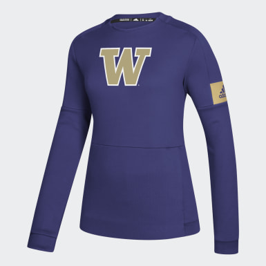 Women's Athletics Multicolor Huskies Game Mode Crew Sweatshirt