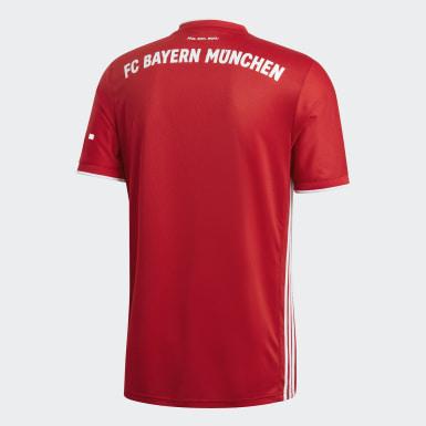 Frauen Fußball FC Bayern München 20/21 Heimtrikot Rot