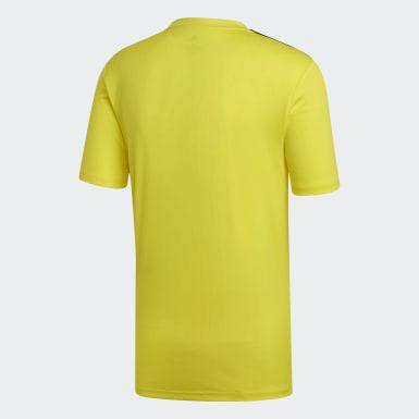 Remera Campeon 19 Amarillo Hombre Fútbol