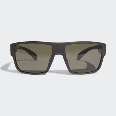 Padel Tennis Brown SP0006 Matte Blue Injected Sport Sunglasses