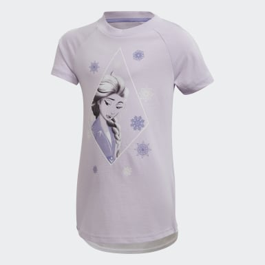 фиолетовый Комплект: футболка и леггинсы Frozen 2
