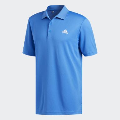 Men Golf Blue Performance LC Polo Shirt