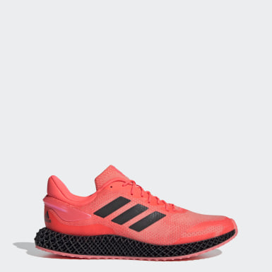 Tenis adidas 4D Run 1.0 (UNISEX) Rosa Running