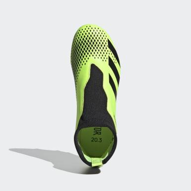 Παιδιά Ποδόσφαιρο Πράσινο Predator Mutator 20.3 Firm Ground Boots