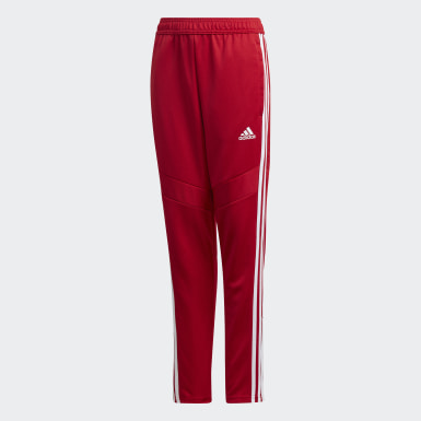 Pantalon d'entraînement Tiro 19 rouge Adolescents Soccer