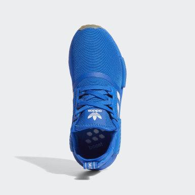 Chaussure NMD_R1 bleu Adolescents Originals