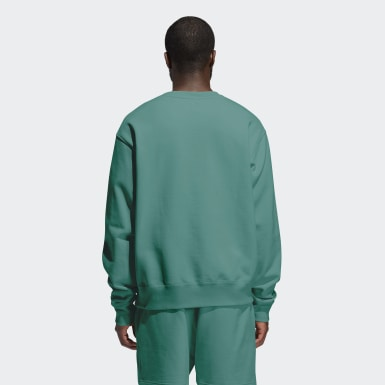 Sweat-shirt Pharrell Williams Basics Crew (Non genré) Vert Originals