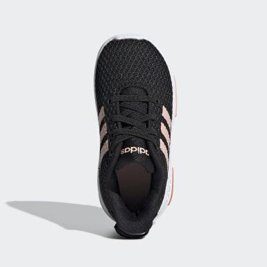 Kids Running Black Racer TR Shoes