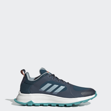Women's Essentials Blue Response Trail X Wide Shoes
