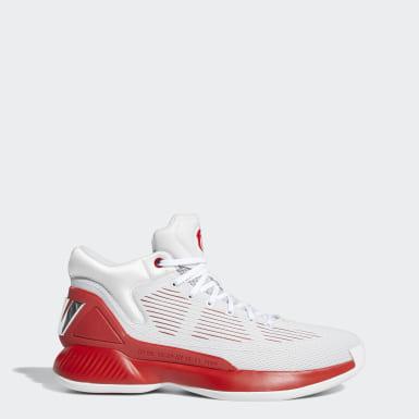 Heren Basketbal Grijs D Rose 10 Schoenen