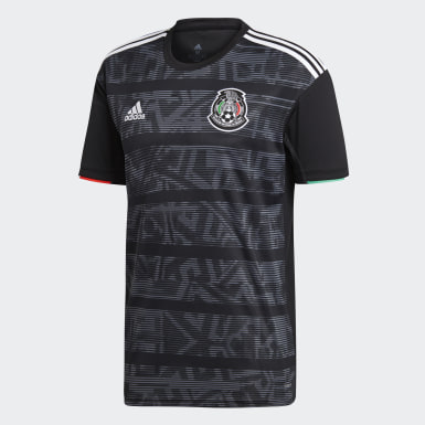 Men Football Black Mexico Home Jersey