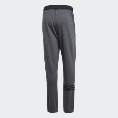 Pantalón Essentials Motion Pack Pierna Cónicá y Puño Ajustado Plomo Hombre Training