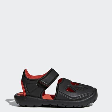 Kids Training Black FortaSwim 2.0 Sandals