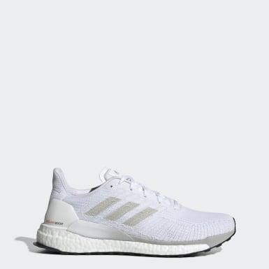 Mænd Løb Hvid Solarboost 19 sko