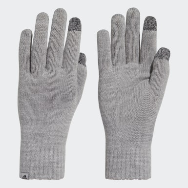 Training Grey Performance Gloves