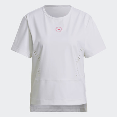T-shirt adidas by Stella McCartney TRUESTRENGTH Loose Blanc Femmes adidas by Stella McCartney