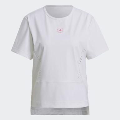 T-shirt Larga TRUEPURPOSE adidas by Stella McCartney Branco Mulher adidas by Stella McCartney