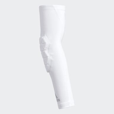 Men's Training White Alphaskin Force Padded Elbow Sleeve
