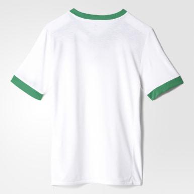 белый Предматчевая футболка сборной Мексики Home