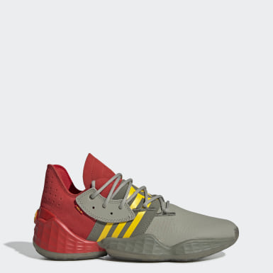 Basket Röd Harden Vol. 4 Shoes