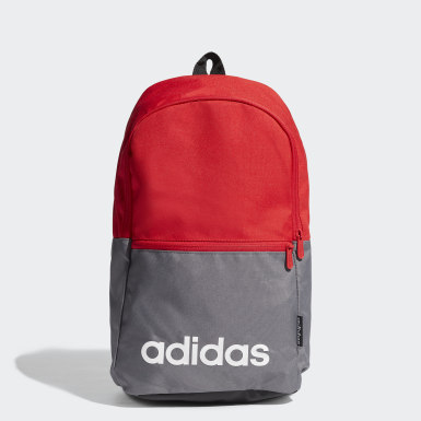 Sport Inspired สีแดง กระเป๋าเป้ Linear Classic Daily