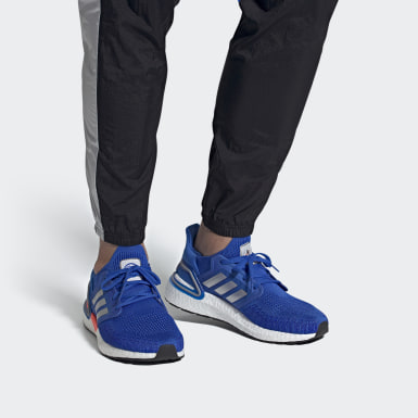 Running Blue Ultraboost 20 Shoes