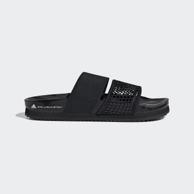 adidas by Stella McCartney Lette Slides Czerń