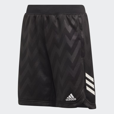 Youth 8-16 Years Training Black XFG Shorts
