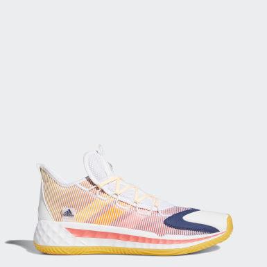 Basketball Hvid Pro Boost Low sko