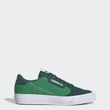Chaussure Continental Vulc vert Originals