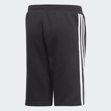 Youth Originals Black Fleece Shorts