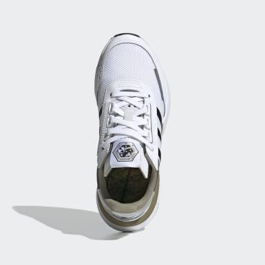 Sapatos Retroset Branco Criança Originals