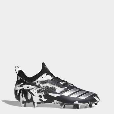 Men's Football White adizero Tagged Cleats