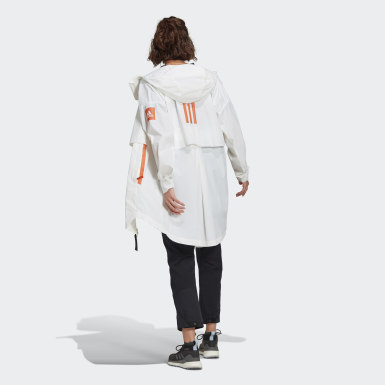 Women Outdoor White MYSHELTER WIND.RDY Parka