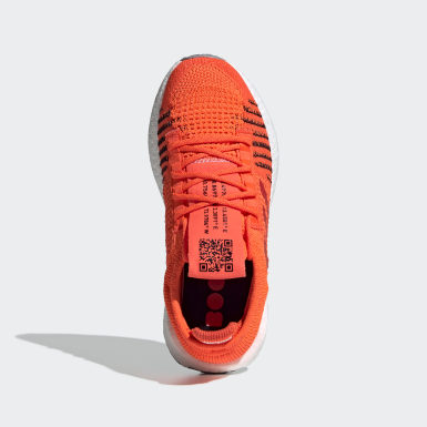 Youth Running Orange Pulseboost HD Shoes