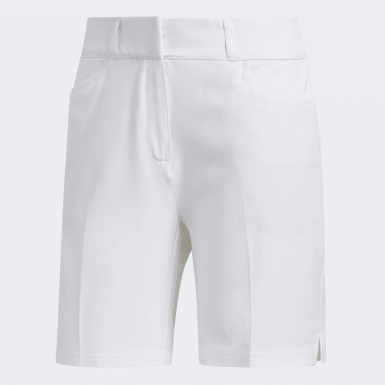 Women Golf White Ultimate Club 7-Inch Shorts