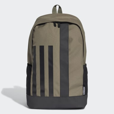 Lifestyle Green 3-Stripes Linear Backpack