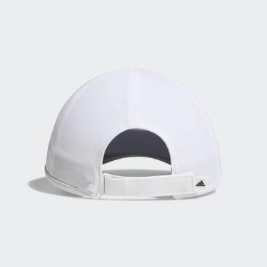 Men Training White Superlite Hat