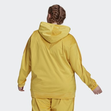 Women Originals Yellow Hoodie (Plus Size)