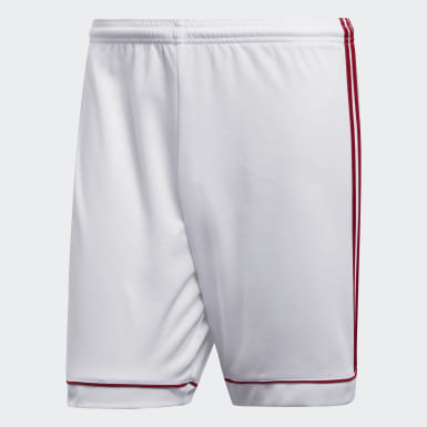 Short Squadra 17 Blanc Hommes Training