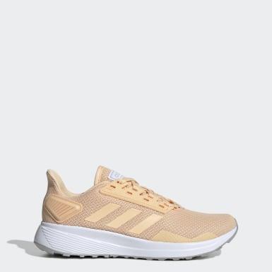 Sapatos Duramo 9 Laranja Mulher Running
