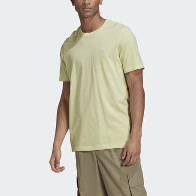 Men Originals Yellow LOUNGEWEAR Adicolor Essentials Trefoil Tee